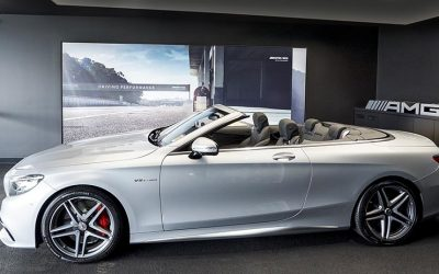 # AMG showroom to open at Mascot