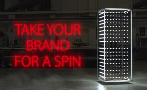 take your brand for a spin