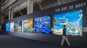 Ralph Kerle's Art of Navy Exhibition