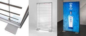 Freestanding lightboxes
